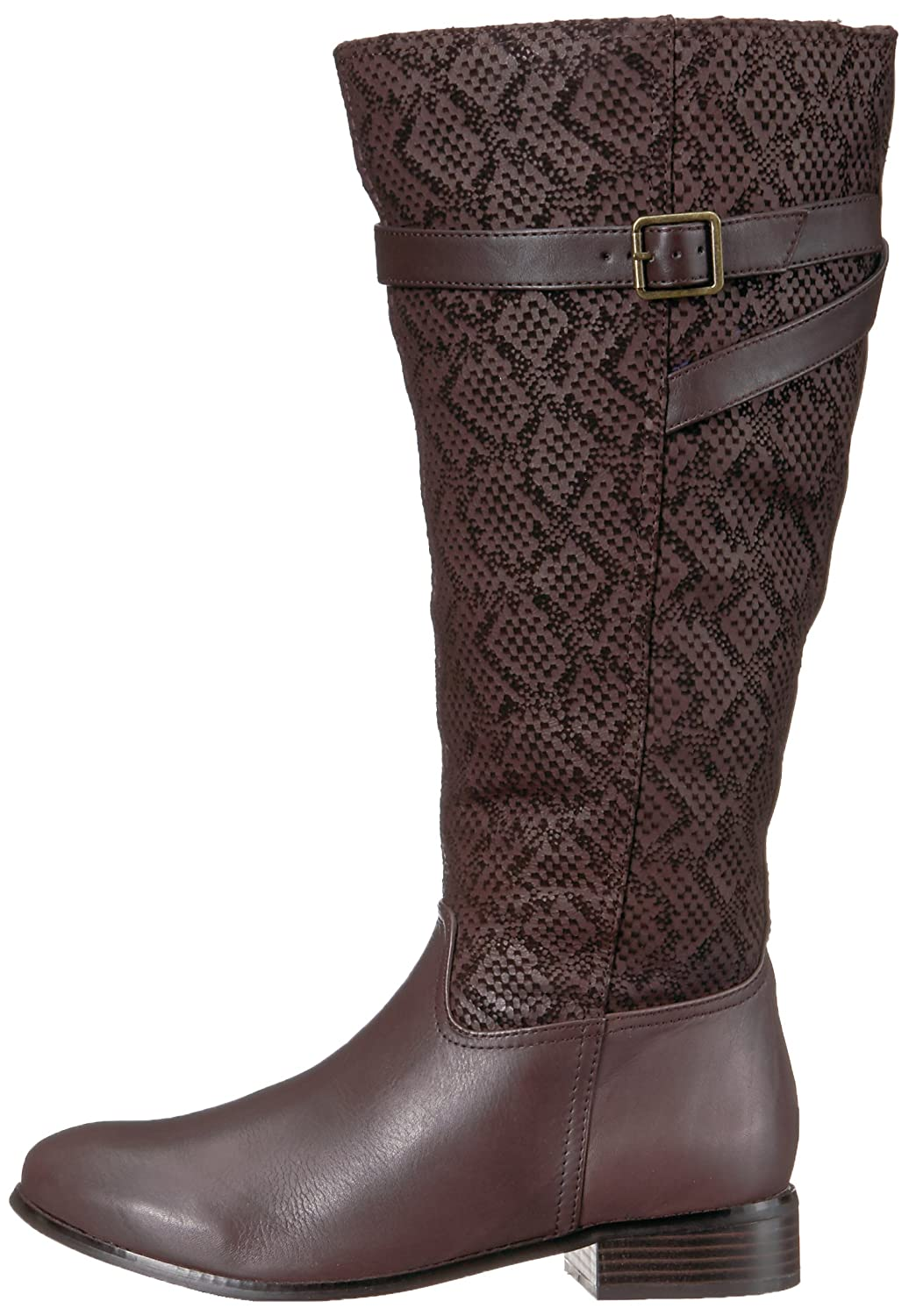 f72b8c4a6719 Trotters Women s Lyra Wide Calf Riding Boot  Buy Online at Low Prices in  India - Amazon.in