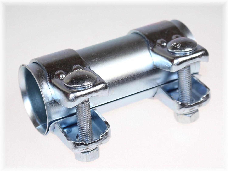 Bayworld Auspuff Universal Rohrverbinder 45x49 5x125mm Doppelschelle 45x125mm Auto