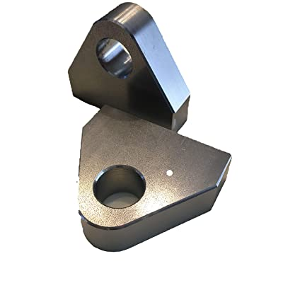 """GoOffroad Weld on """"Flat Face"""" Clevis Shackle Mount Set Made in the USA: Automotive"""
