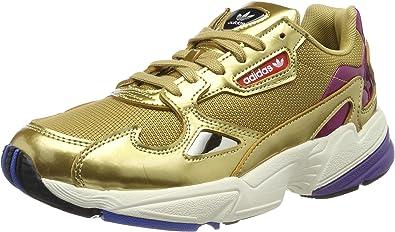adidas Originals Falcon - Zapatillas de running para mujer, color dorado