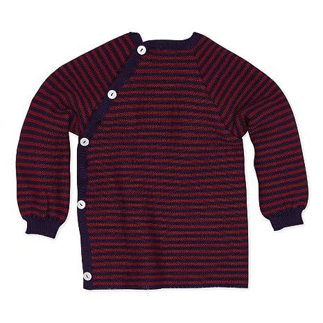 Bio lana de merino, color nartural rosa aubergine/beere