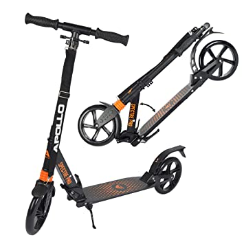 Apollo Big Wheel Scooter 200 mm - Spectre Pro Naranja es un City Scooter de Lujo