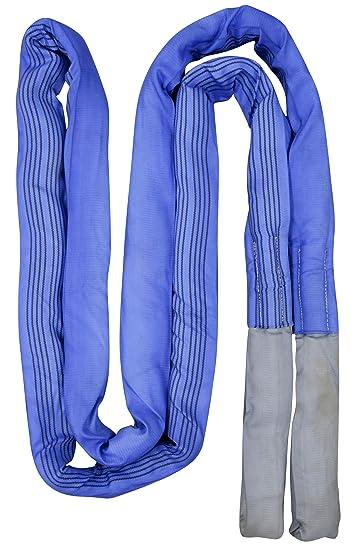 Kerbl 37708 Abschleppschlinge 6m 56t Reißfestigkeit Blau Gewerbe Industrie Wissenschaft