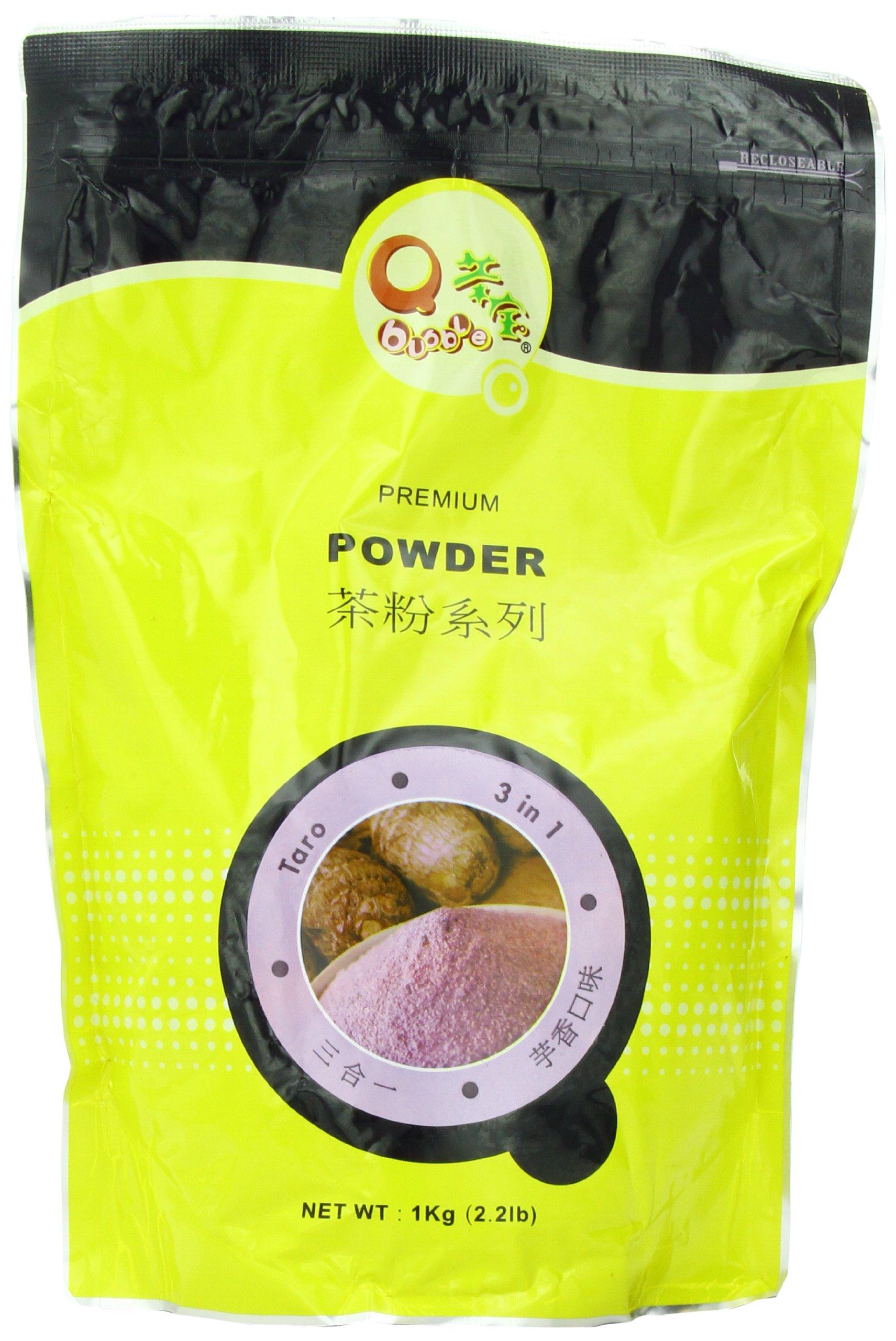 Qbubble Tea Taro Powder, 2.2 Pound