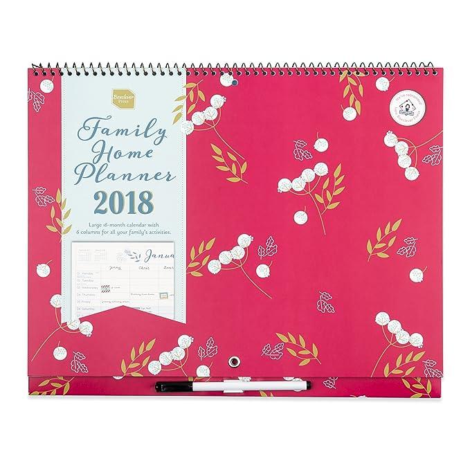 23 opinioni per Family Home Planner 2018 di Boxclever Press. Calendario mensile a sei colonne.