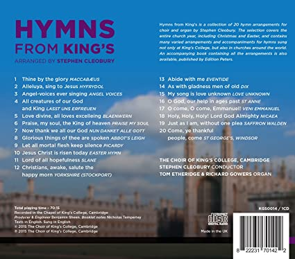 Strange Hymns From Kings The Choir Of King S College Cambridge Cjindustries Chair Design For Home Cjindustriesco