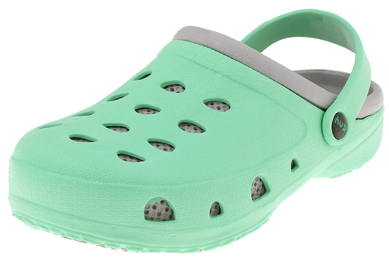 Capelli New York Two Tone Injected EVA Girls Clogs FIG-1503