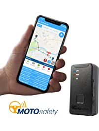 MOTOsafety MTAS1 Mini Portable Real Time Personal Tracking and GPS Tracker