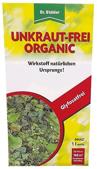Dr Stahler Unkraut Frei Organic 1 L Glyphosatfreies Totalherbizid