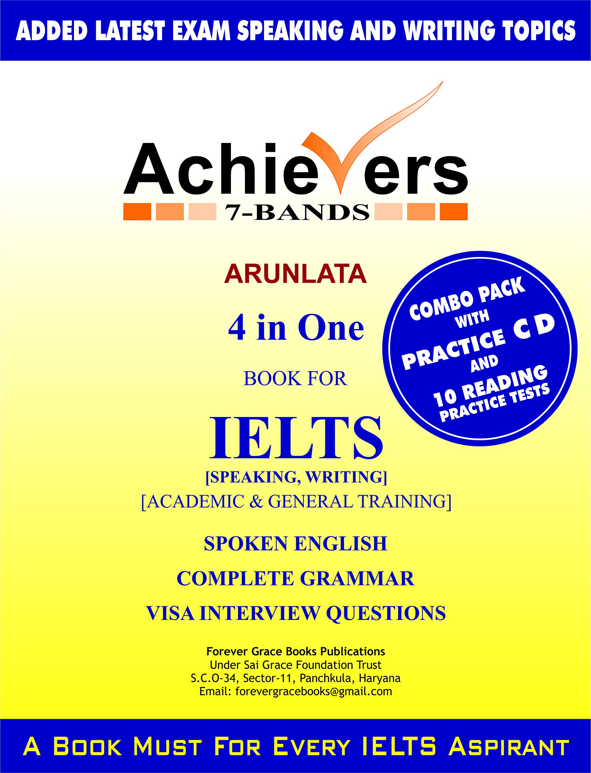 Amazon in: Buy IELTS Achievers 7-Bands 4 in one combo Pack with