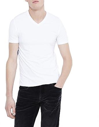 Celio Jeuni - Camiseta para hombre, color blanc (optical white), talla s