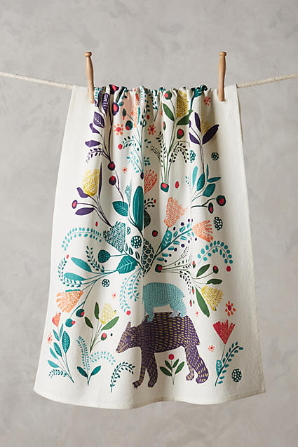 Saga Dishtowel - Anthropologie.c​om