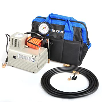 Potente Compresor De Aire iSHOXS airmaxx, Ball Compresor con integrado indicador de impresión, 220 V, 95 W: Amazon.es: Electrónica