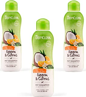 product image for (3 Pack) Tropiclean Hypo Allergenic Opti Neem Citrus Pet Shampoo, 20 Ounce Each