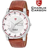 Charlie Carson Analogue Silver Dial Men's Watch -Cc025M