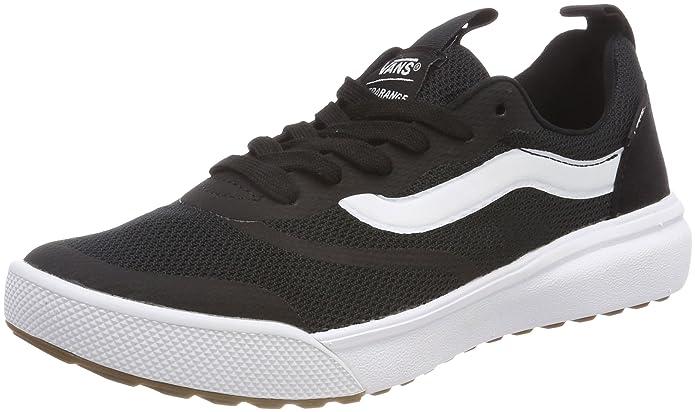 Vans Ultrarange Rapidweld Schuhe Kinder Erwachsene Schwarz mit weißem Streifen