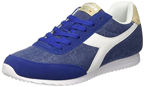 Diadora Jog Light C, Sneaker Uomo, Blu (Blu Limon Ges), 39