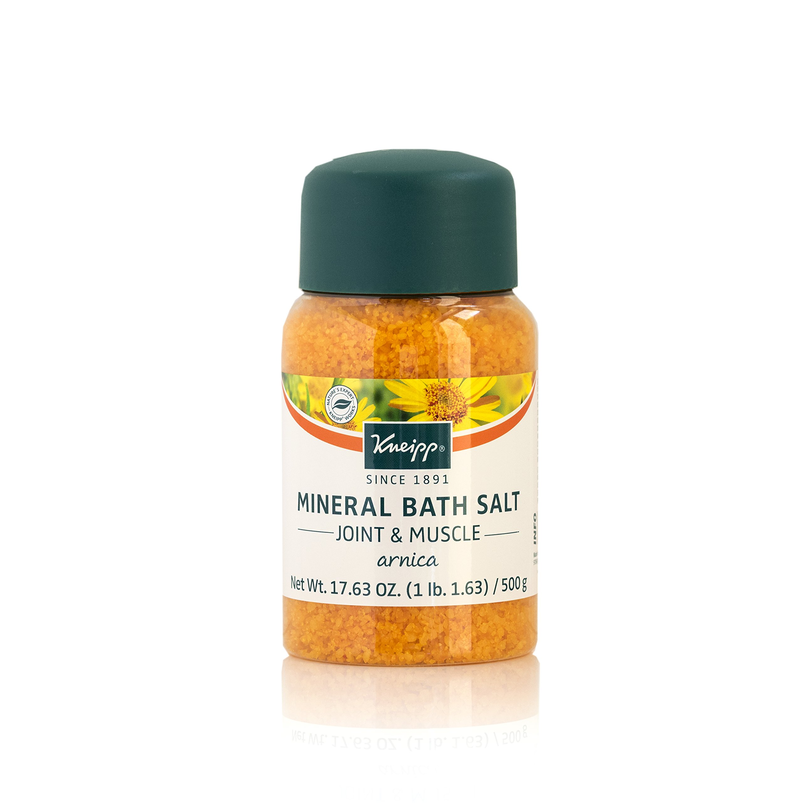 Amazon.com : Kneipp Arnica Mineral Bath Salts, Joint & Muscle 17.63 ...