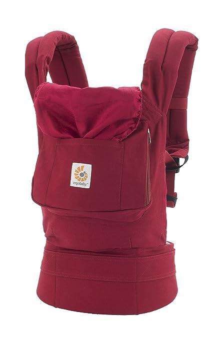 Ergobaby, mochila portabebé original roja