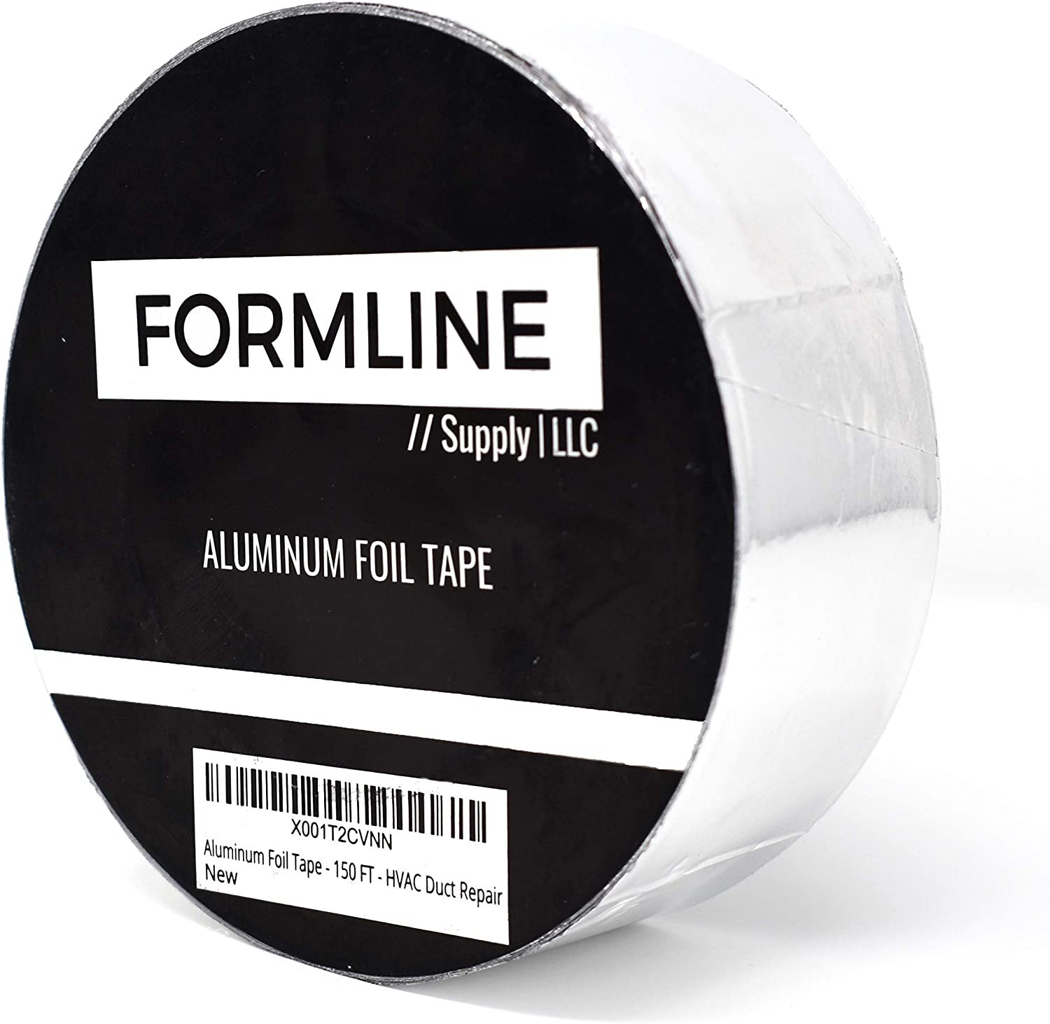 Aluminum Foil Tape - (2 Inch by 150 FT) - Heat Resistant Aluminum Insulation Tape Great for Duct Repair, HVAC and More
