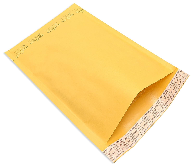 Urban Supplies 9.5x14.5 #4 Eco-Lite Kraft Self Seal Bubble Mailer Case of 100
