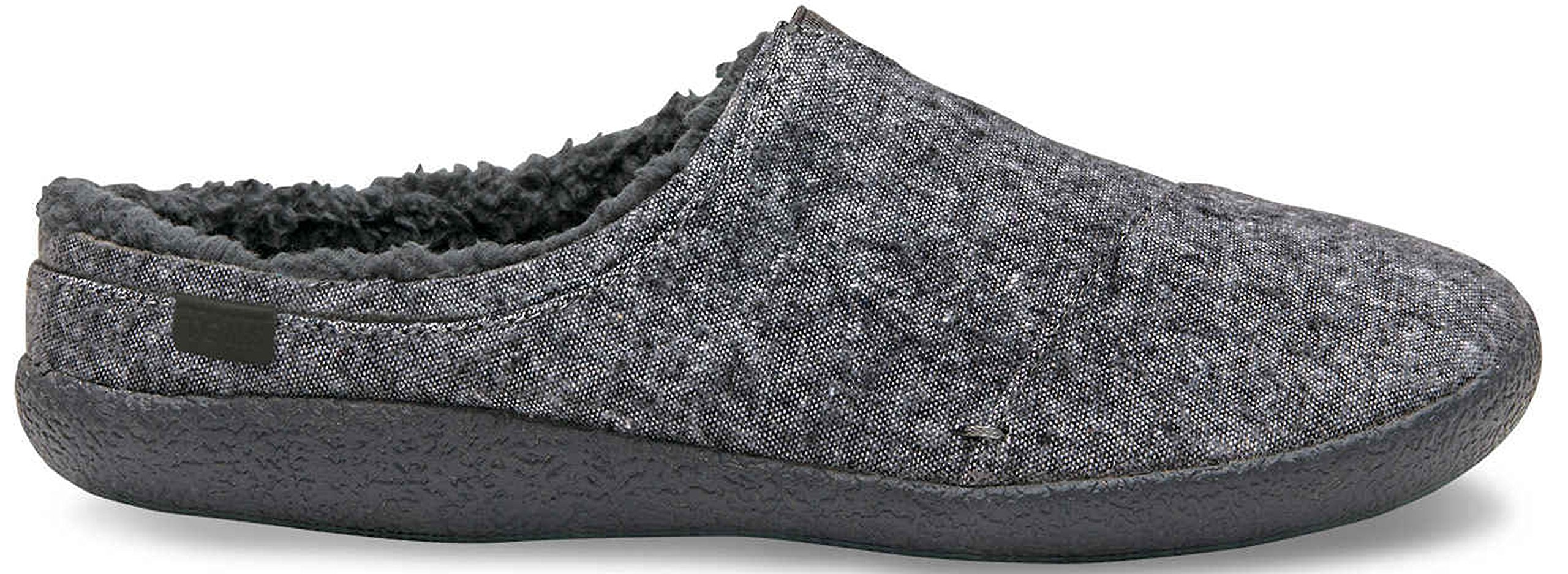 287cbf55e1e Galleon - TOMS Berkeley Slippers Grey Slub Textile 10009117 Mens 7