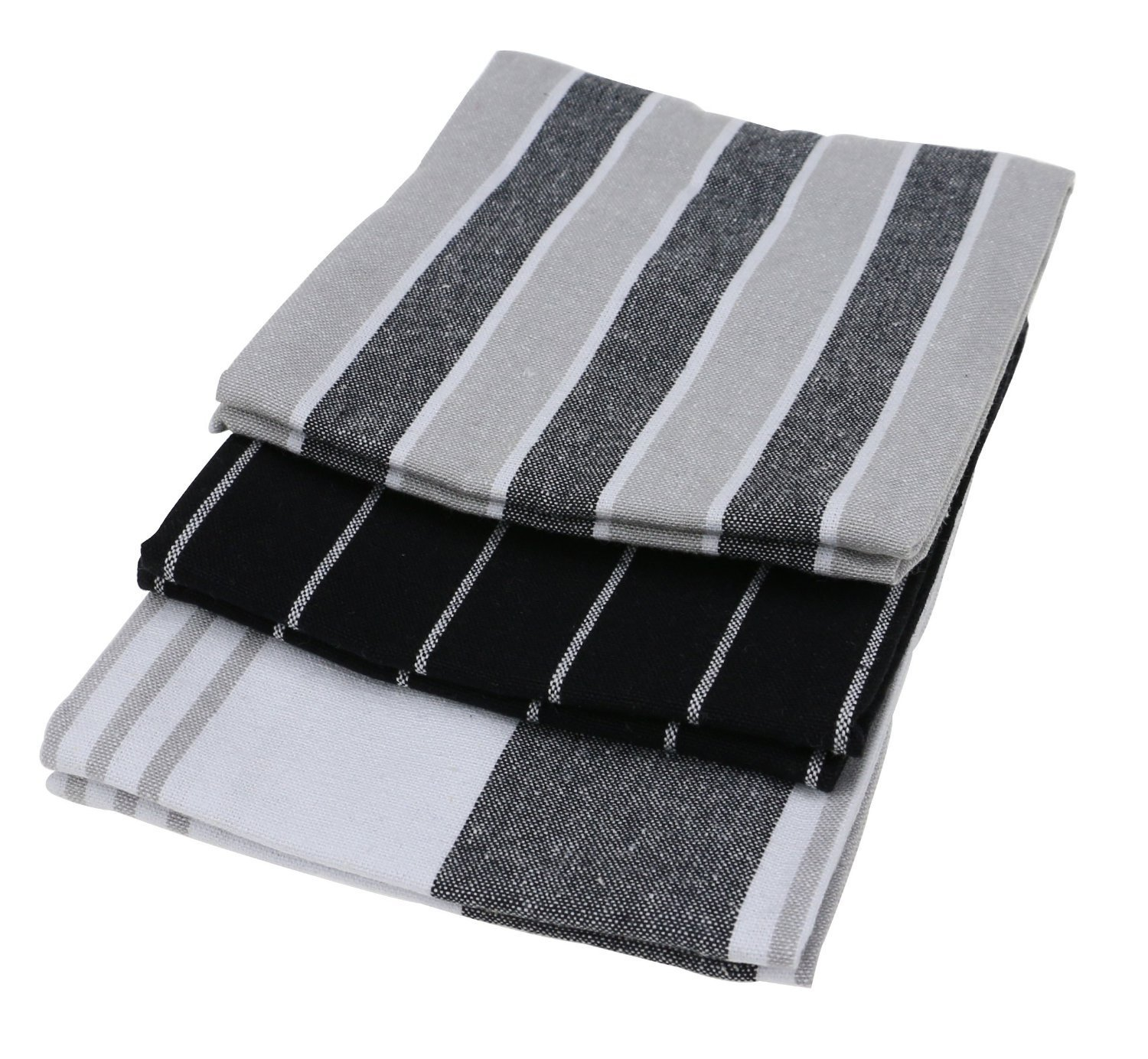 Generic 6pcs Kitchen Towels, 100% Natural Cotton, The Best Tea Towels, Dish Cloth, Absorbent And Lint-Free