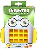 Funbites Dylan, Ausstechform, grün, plastik, gelb, 15 x 5 x 18 cm