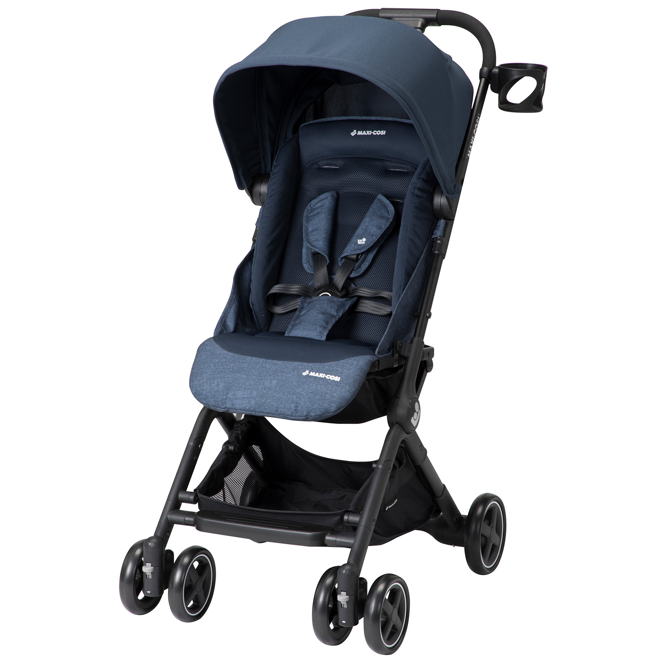 Maxi-Cosi Lara Lightweight Ultra Compact Stroller, Nomad Blue, One Size