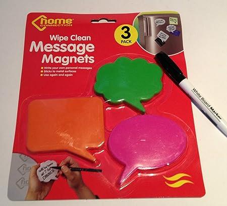 Magnéticos para la nevera imanes para dejar mensajes Memo Bloc de ...