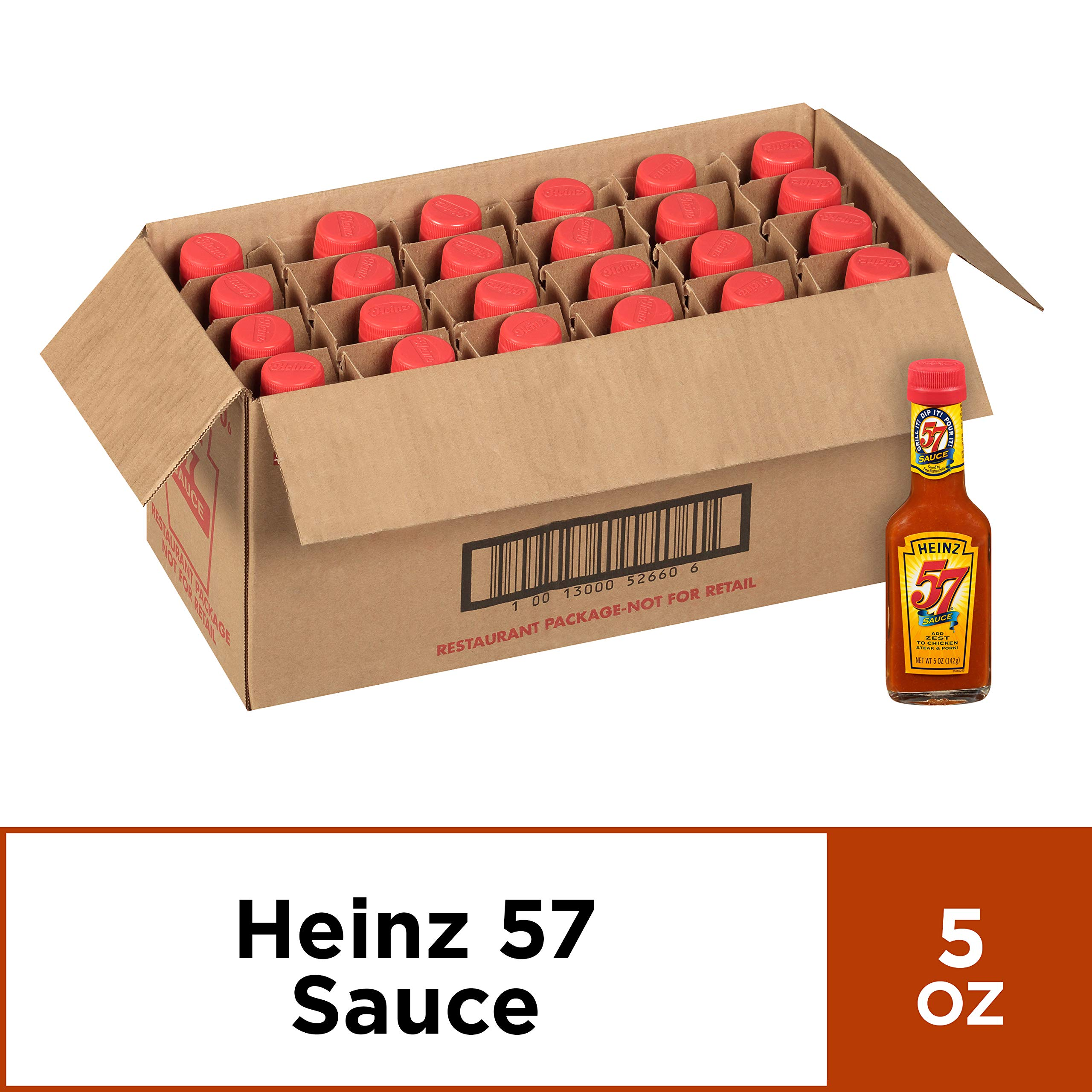 Heinz 57 Sauce 5 Oz Bottles Pack Of 24 Buy Online In Brunei At Brunei Desertcart Com Productid 22666220