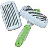 WEGO autopulente spazzola cani e gatti pennello - adatto per i capelli corti e lunghi - per piccoli e grandi animali - facile, comodo e sicuro!