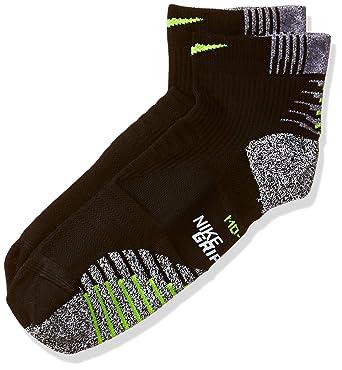 96925ba8c Nike NIKEGRIP Lightweight Low Training Socks Black/Volt Womens Low Cut Socks  Shoes