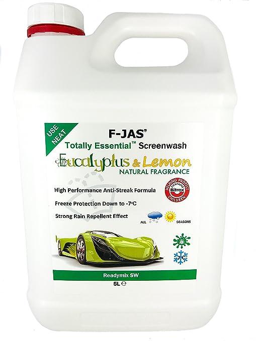 Totalmente esencial aroma Natural limpiaparabrisas 5L Readymix