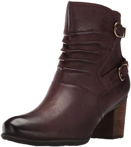 Josef Seibel Women's Britney Ankle Bootie, Moro, 37 EU/6-6.5 M