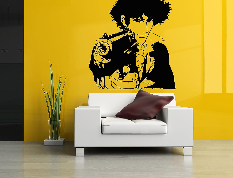Amazon.com: Wall Room Decor Art Vinyl Sticker Mural Decal Cowboy ...