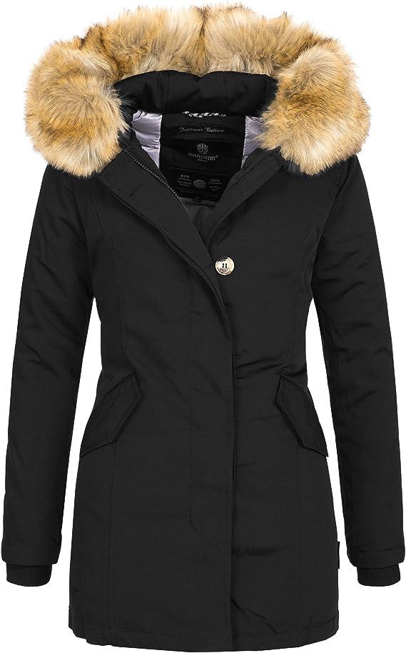 Karmaa Parka Damen Winterjacke Jacke Marikoo Warm Mantel f6Yym7gbvI