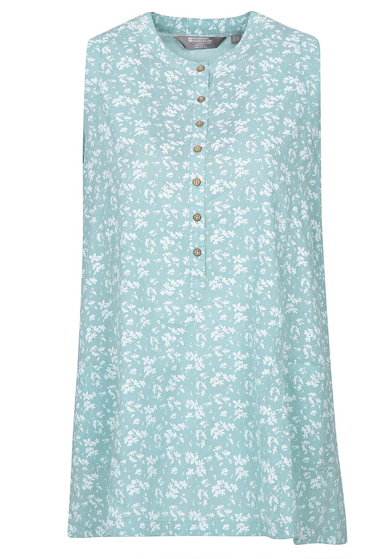 Mountain Warehouse San Diego Printed Sleeveless Relaxed Womens Shirt