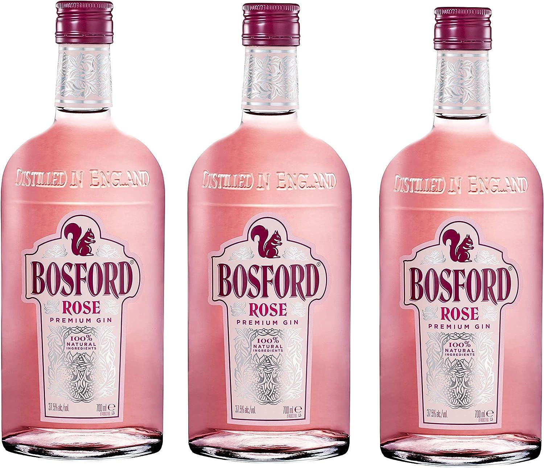 Bosford Gin Rosé - Pack de 3 x 700 ml: Amazon.es ...