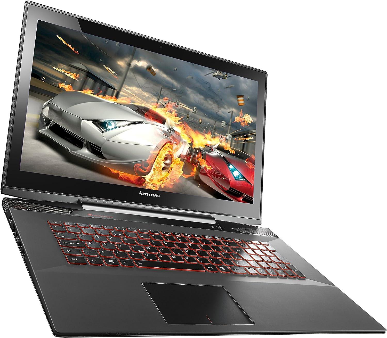 "Lenovo Y70 80DU00ESUS Touchscreen Gaming Laptop (Windows 8, Intel Core i7-4720HQ, 17.3"" LED-lit Screen, Storage: 16 GB, RAM: 16 GB) Black"