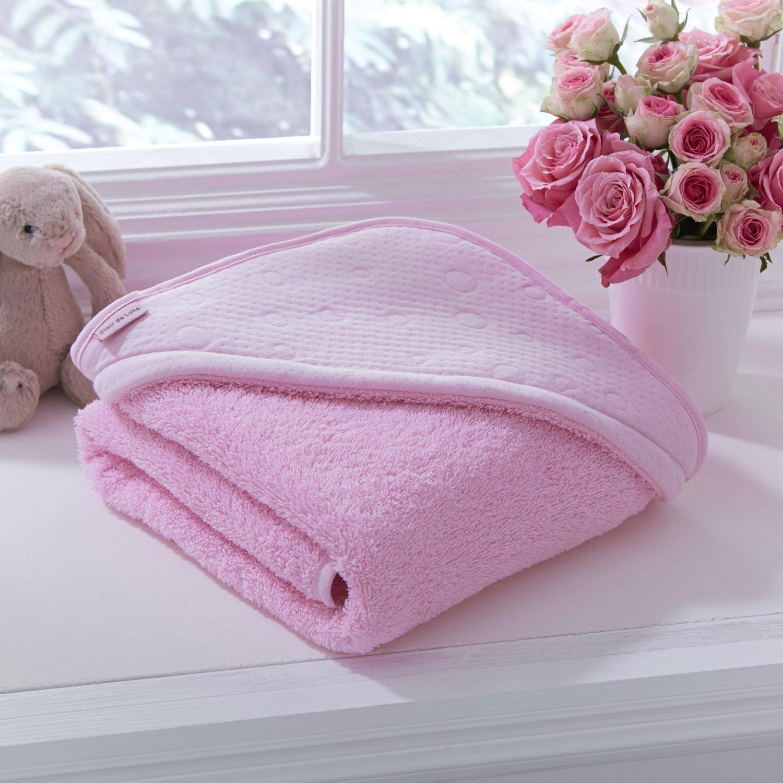 Rose Clair de Lune coton Candy Serviette /à capuche