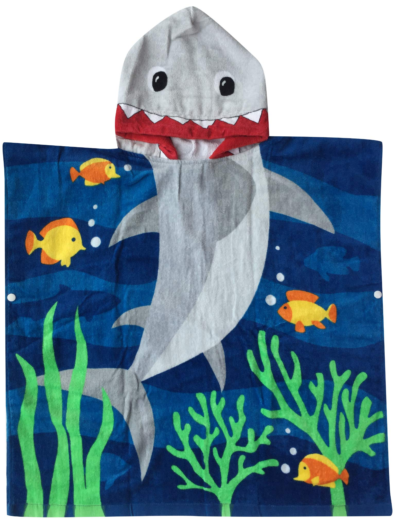 Kids Bath Towel for Girls After Bath Hooded Baby Towel Soft /& Absorbent Beach or Swim 100/% Cotton Kids Towels with Hood L JAMORGANIC Hooded Towels for Girls Mermaid Theme W X 48 24