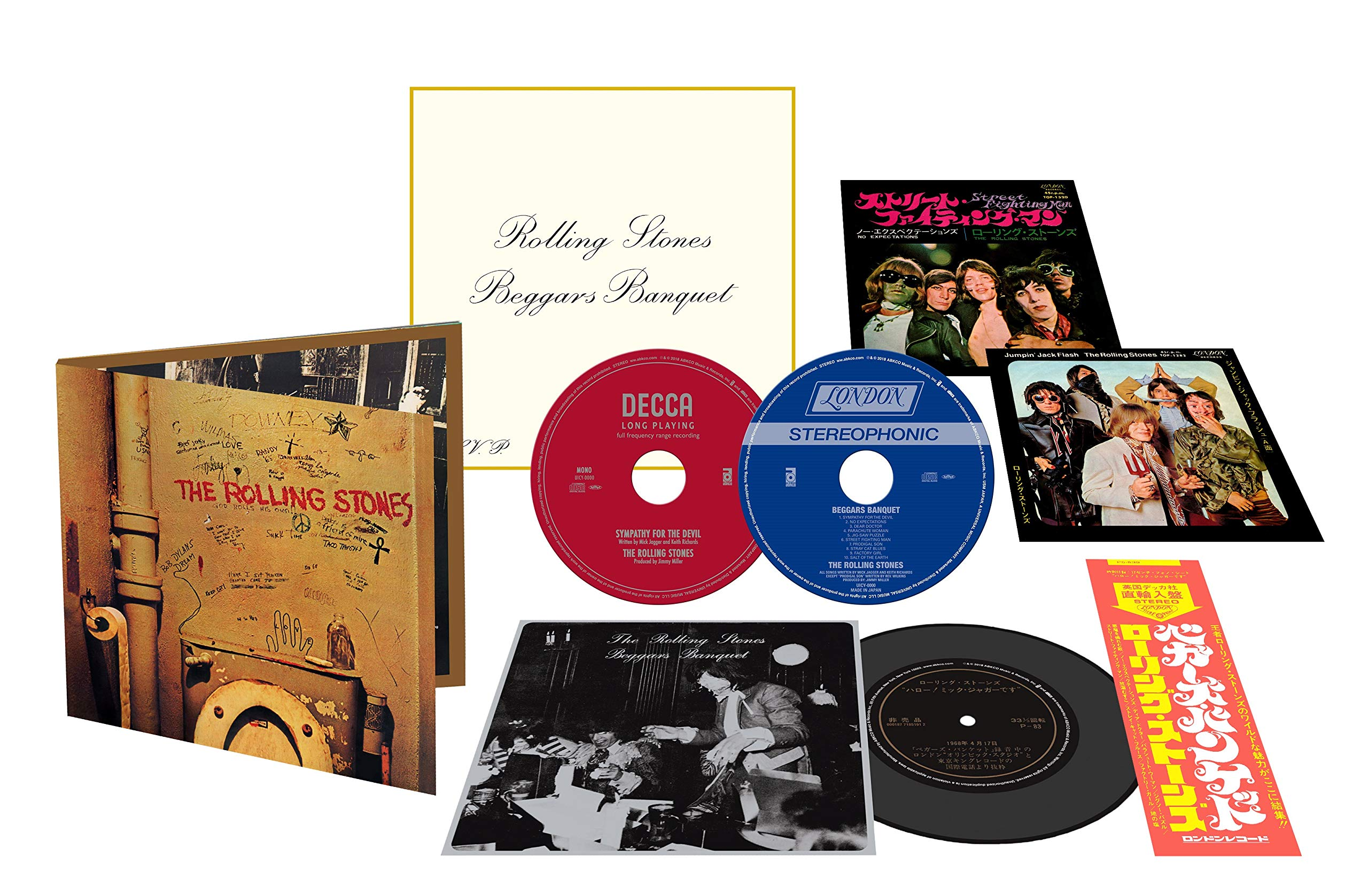 SACD : The Rolling Stones - Beggars Banquet: 50th Anniversary Edition (Hybrid SACD, Special Packaging, Japan - Import)