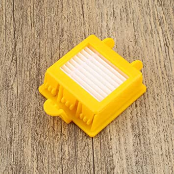Dailyinshop 10Pcs Sweeping Robot Accessories para aspiradora Reemplazo de Filtro HEPA para IRobot para Roomba 700 Series 760 770 780 Model, ...