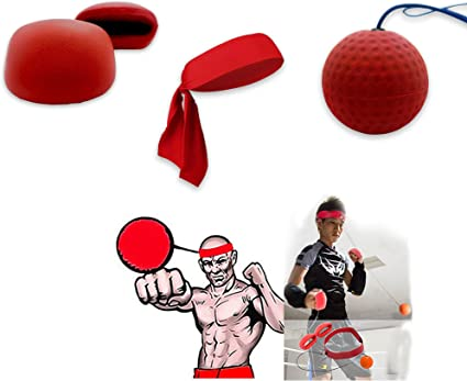 Boxing Punching Reaction Training Speed Ball Tennis Sports Decompression
