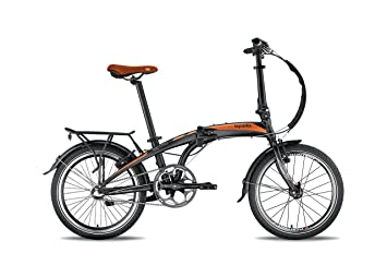 Bicicleta plegable Ultra Ligero Retro Qin bizobike sobre Amazon