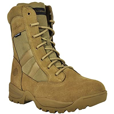 Smith & Wesson Men's Breach 2.0 Tactical Size Zip Boots: Shoes