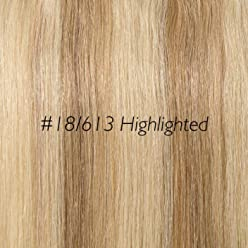 Rich Remy 16inch 2 piece clip ins AS SEEN ON TV (#18/613 Highlighted Blonde)