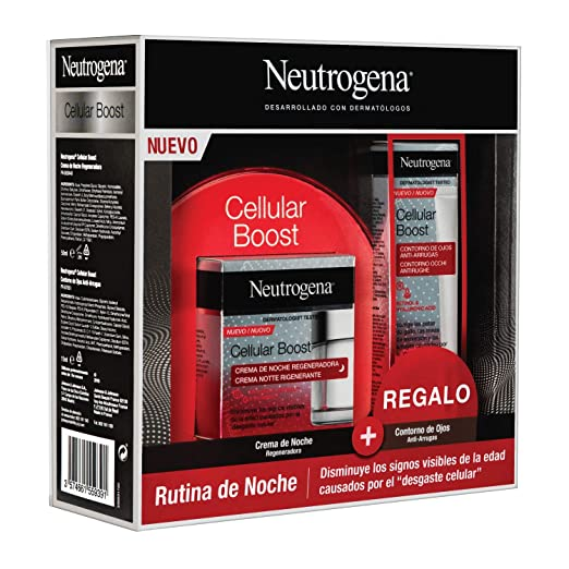 Neutrogena Cellular Boost Anti-edad, Pack Crema de Noche ...