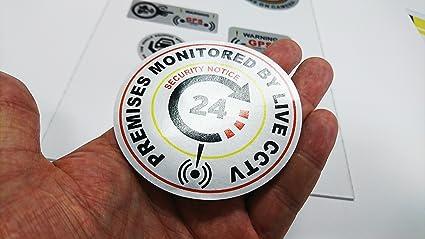 X2 tienda oficina hogar locales alarma de alta Tack adhesivo ...